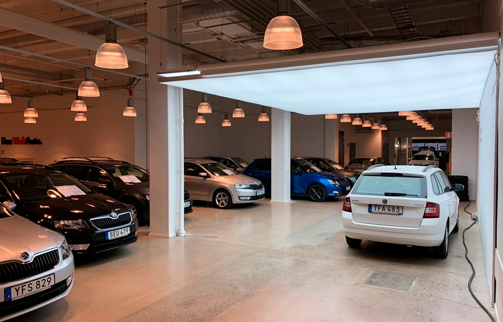 Volkswagen showroom in Stockholm, Sweden